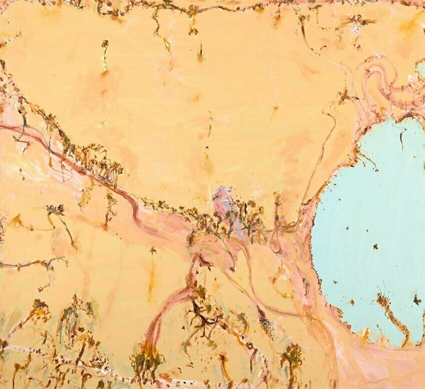 "JOHN OLSEN ""Bathurst Butter"" Signed, Limited Edition Digital Print 73cm x 80cm"