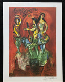 "MARC CHAGALL ""Carmen"" Limited Edition Colour Lithograph"