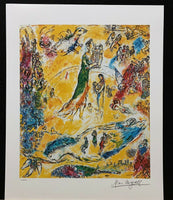 "MARC CHAGALL ""Sorcerer of Music"" Limited Edition Colour Lithograph"