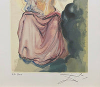 "SALVADOR DALI ""Beatrice Resolves"" Limited Edition Colour Lithograph"
