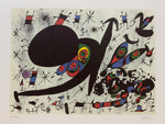 "JOAN MIRO ""Homage to Joan Prats"" Limited Edition Colour Lithograph"