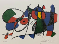 "JOAN MIRO ""Volume II Litho VIII"" Limited Edition Colour Lithograph"