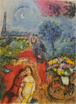 "MARC CHAGALL ""Serenade"" Limited Edition Colour Lithograph"