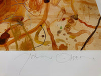 "JOHN OLSEN ""Sous Chef"" Signed, Limited Edition Digital Print 77cm x 82cm"