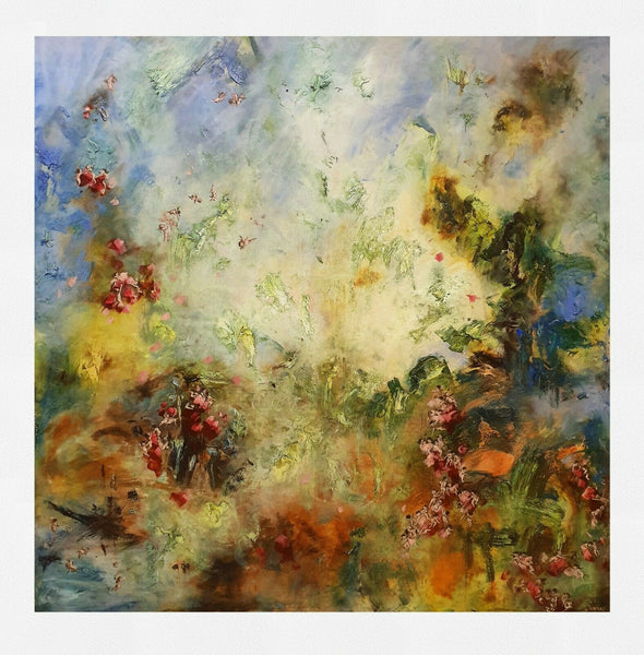 "CHRIS RIVERS ""Chaos and Disorder 1"" Signed, Limited Edition Print 75cm x 75cm"