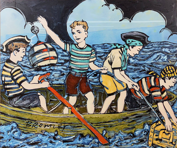 "DAVID BROMLEY ""Maiden Voyage"" Signed Limited Edition Print, 50cm x 60cm"