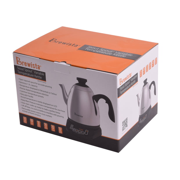 Stout Spout™ 1.2L Variable Temperature Cupping Kettle