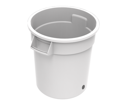 Rubbermaid® Brute® Bucket ready for use with the Cold Pro™ System