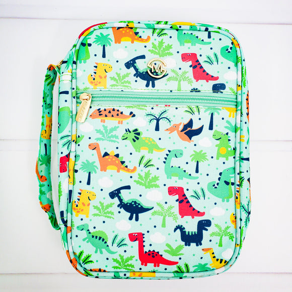 Kids Bible Cover - Dinosaur Book Cover - Organizer