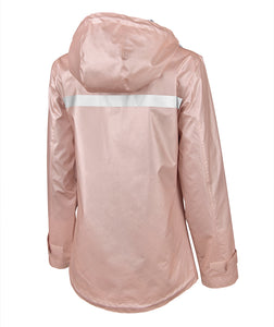 Charles River New Englander Rain Jacket -- Rose Gold