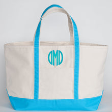 Canvas Boat Tote - Large