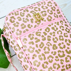 Bible Cover - Blush Leopard