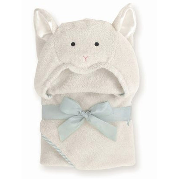 Hooded Towel for Babies and Toddlers - Lamb