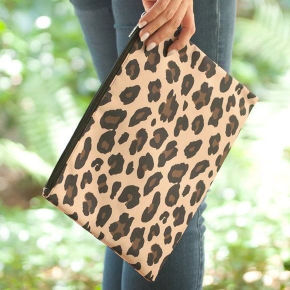 Wild Side Zip Pouch