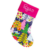 Traditional Christmas Stocking | Navy Blue | Stocking for Men