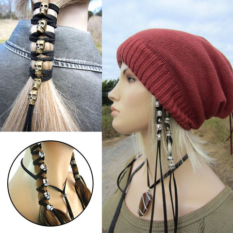 Image of Skull Addicts Hair Tie
