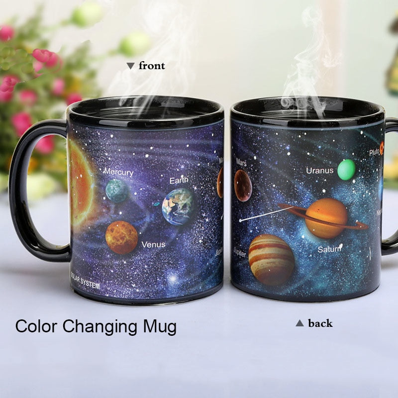 Space Lover's Color Changing Mug