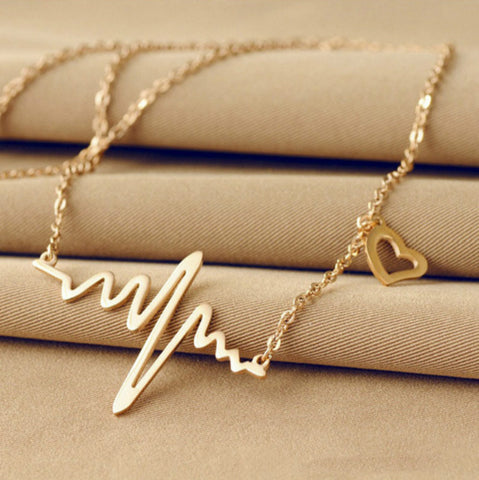 Image of Heart Beat Necklace