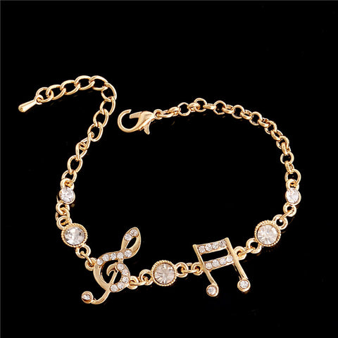 Image of Crystal Music Bracelet