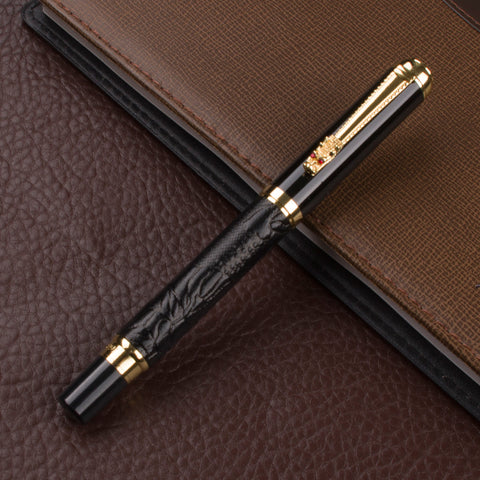 Image of Black and Gold Dragon Pen