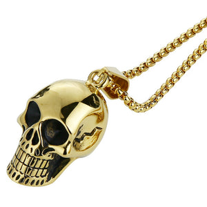 Skull Addicts Skull Pendant Necklace