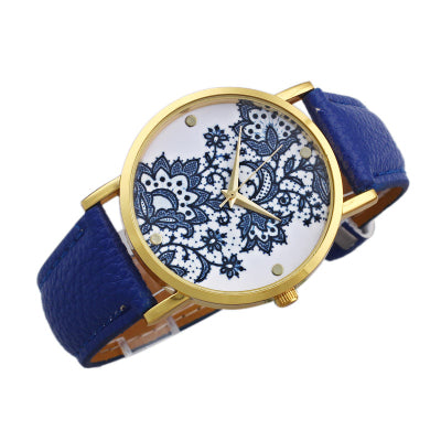Minimalist Flower Power Watch