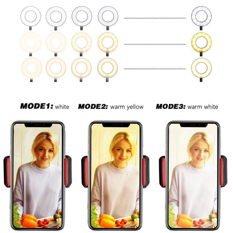 Adjustable Selfie Ring Light