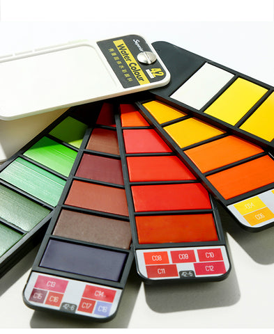 Image of To Go Water Color Paint Set