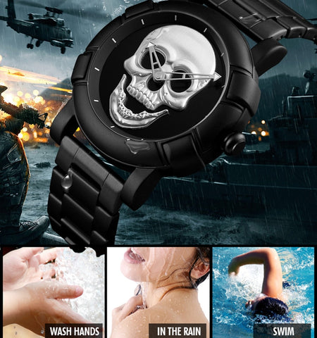 Skull Addict's Skull Watch