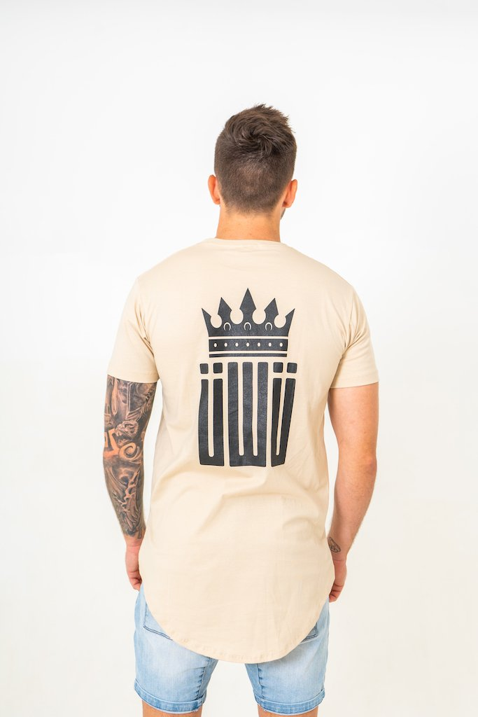 IIWII cream crown shirt