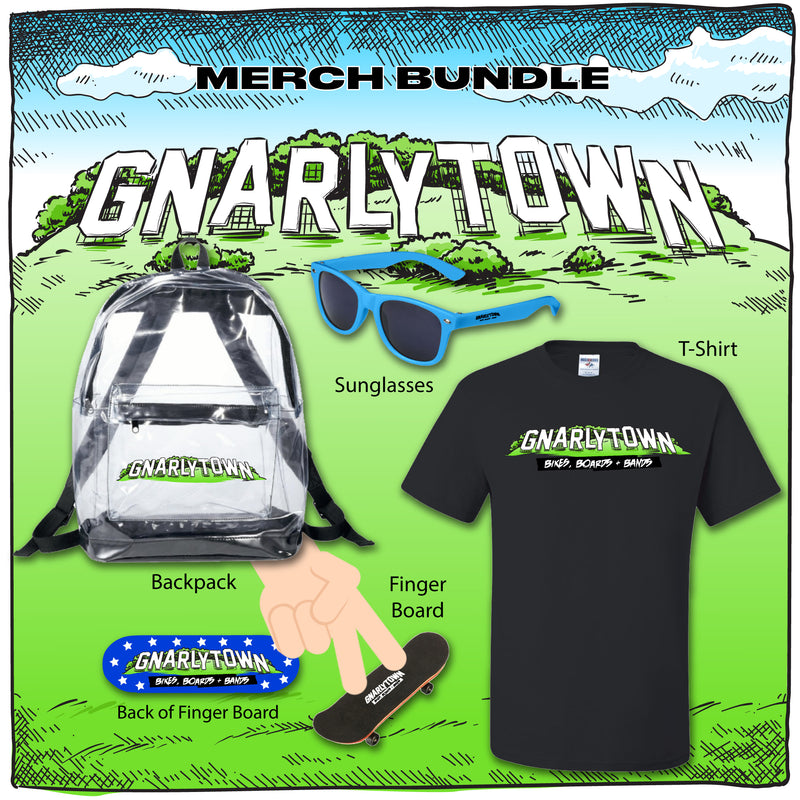 Gnarlytown Merch Bundle (Pre-Order)