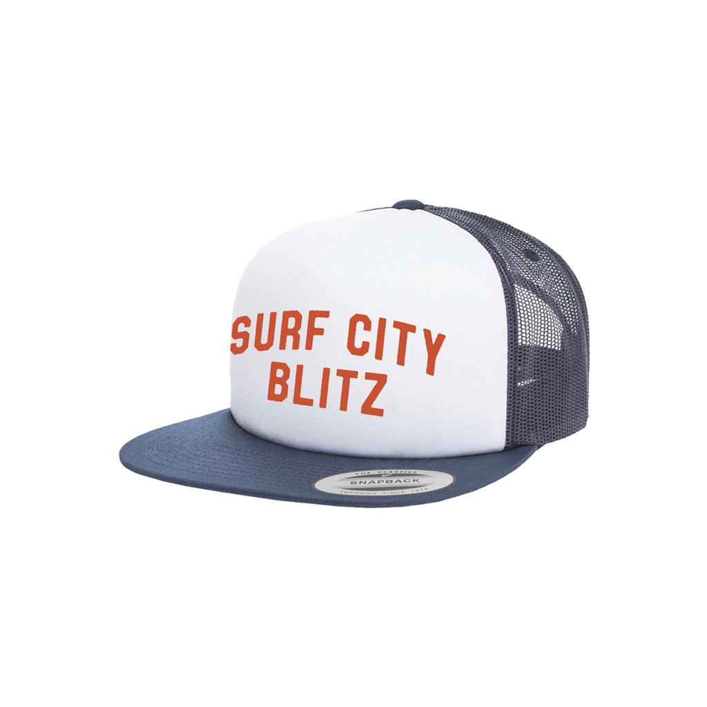 Surf City Blitz Hat Navy White