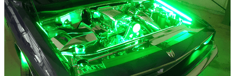 Challenger LED lights for engine bay by Oracle Lighting