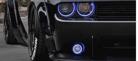 Challenger Halo fog Lights by Oracle Lighting