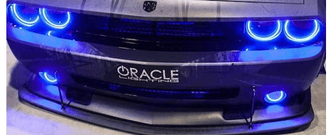 Dodge Challenger Halo lights for headlights by Oracle Lighting