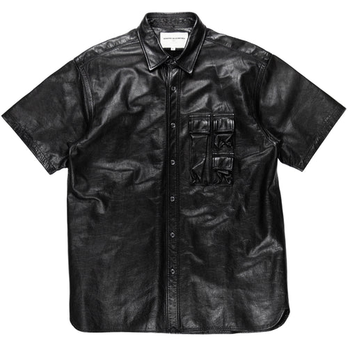 General Research Leather Cargo Pocket Mesh Shirt - 1999