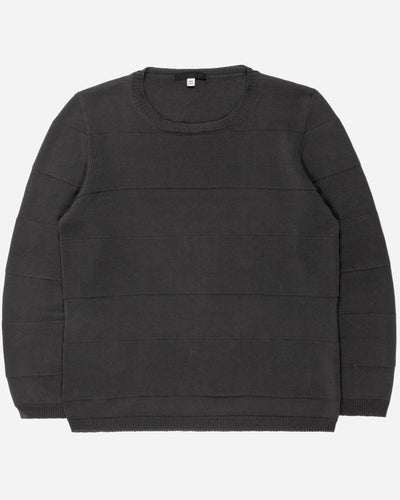 Helmut Lang Black Paneled Sweater - 2000s