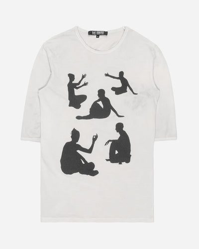 "Raf Simons Yogi Poses ¾ Sleeve Tee - SS04 ""May The Circle Be Unbroken"""