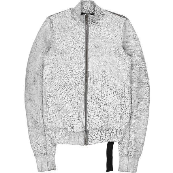 Rick Owens Drkshdw Cracked Painted Jacket - 2012