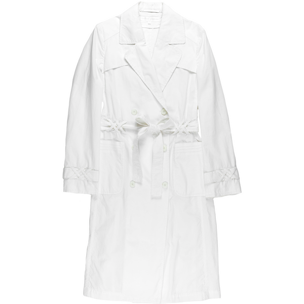Veronique Branquinho White Trench Coat - SS07