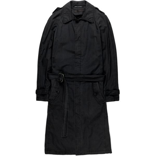 "Veronique Branquinho Man Navy Mac Coat - AW06 ""Complice"""