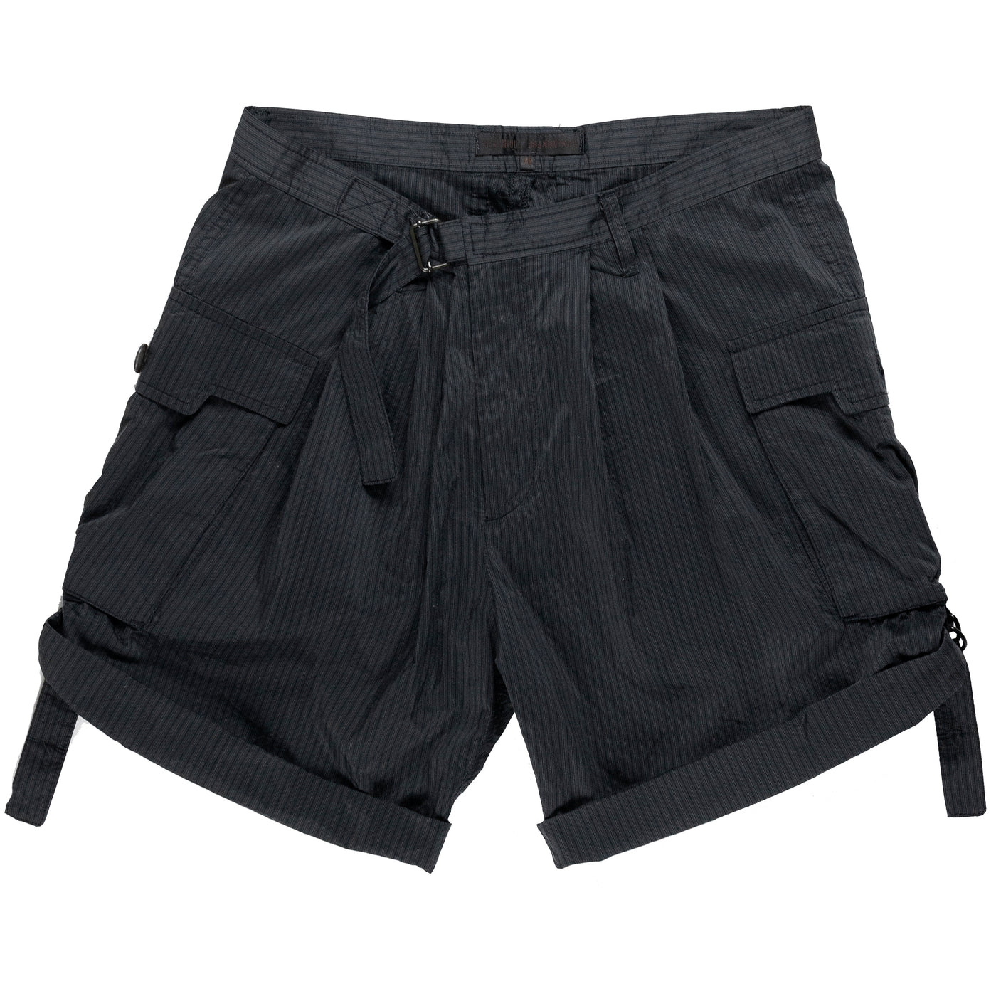 VERONIQUE BRANQUINHO MAN CINCHED CARGO SHORTS - SS08