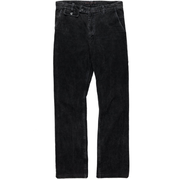 Veronique Branquinho Man Ash Black Corduroy Trousers