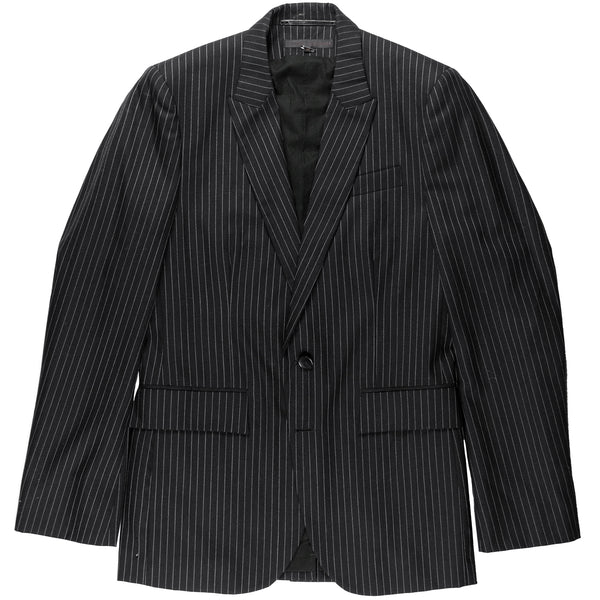 Veronique Branquinho Man Pinstripe Two-Button Blazer - SS06