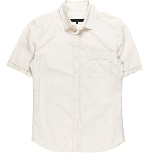 Veronique Branquinho Man White Double Cuffed Shirt
