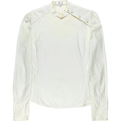 Veronique Branquinho White Distressed Fencing Top - AW02