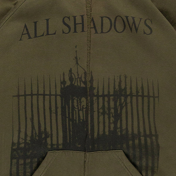 "Raf Simons ""All Shadows & Deliverance"" Hoodie - AW05 ""History Of My World"""