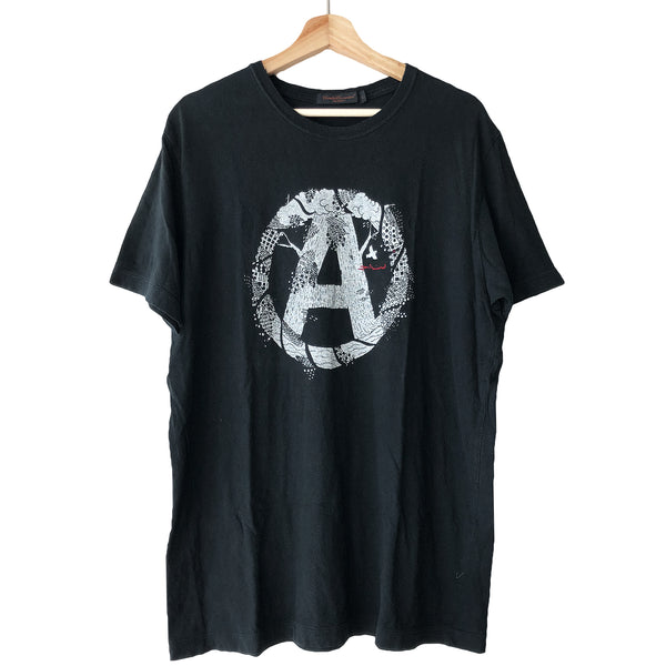 Undercover Black Anarchy Tee