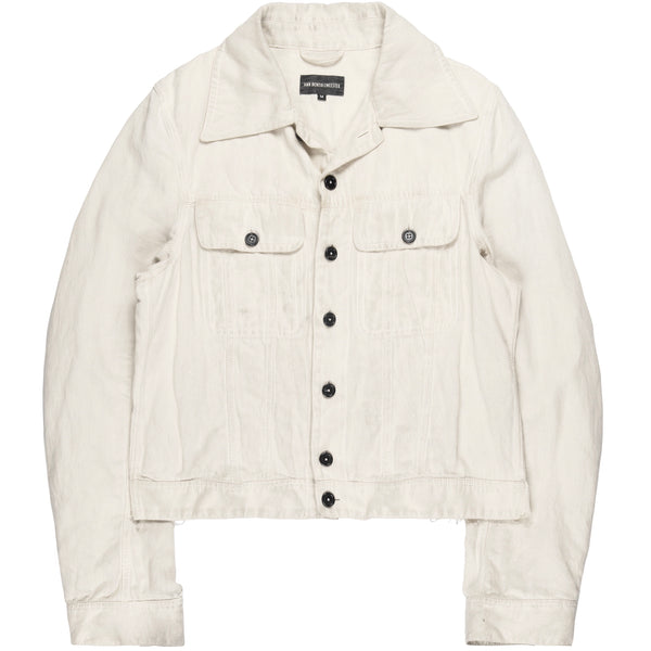 Ann Demeulemeester Cream Harbour Jacket - SS18