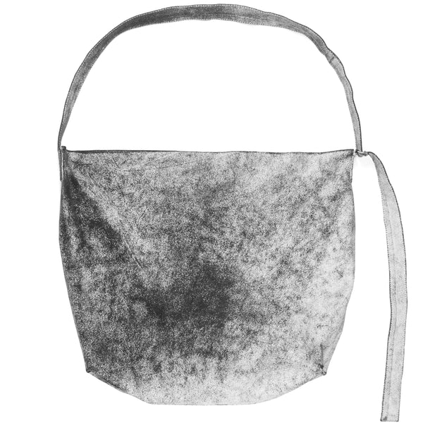Ann Demeulemeester Cracked Painted Leather Bag - SS02